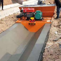 混凝土边沟滑模成型机