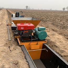 水渠滑模机实用性分析