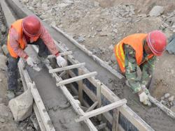 衬砌排水渠六种结构形式