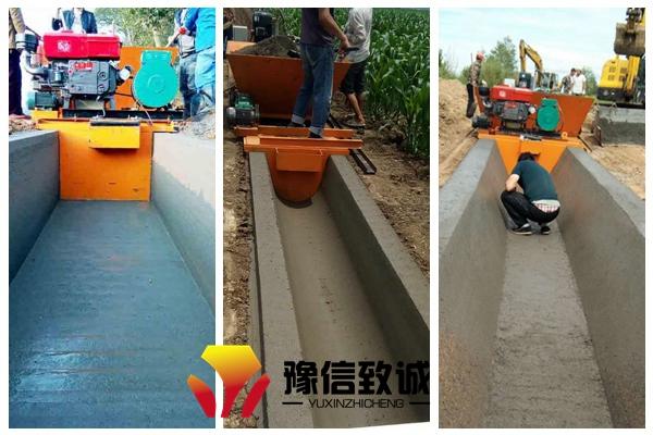 水渠浇筑机支持形状和尺寸定制