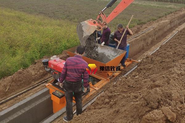 水渠现浇施工流程