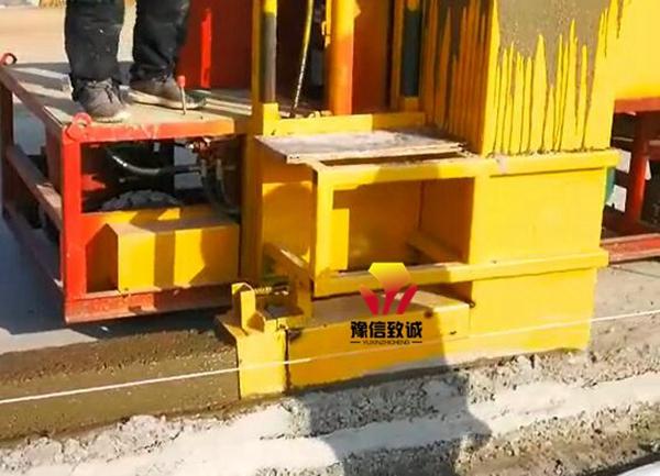 混凝土路沿石滑模机